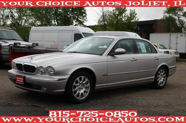 2004 JAGUAR XJ-SERIES XJ8 LTHR SUNROF CLEAN ALLOY CRUISE KEYLES G30276