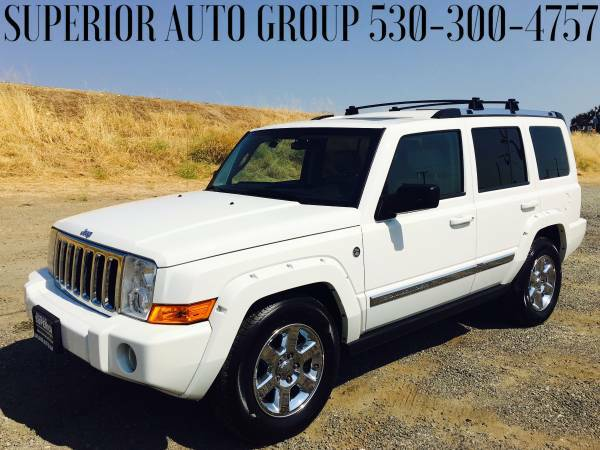 2006 JEEP COMMANDER //4X4//LOADED//LEATHER//TV//