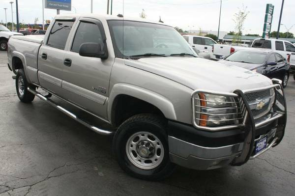 2004 Chev-Duramax Diesel,Allison Trans,4X4, Leathe