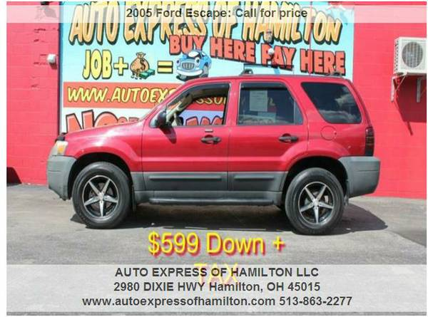 2005 Ford Escape $599 Down+TAX BUY HERE PAY HERE
