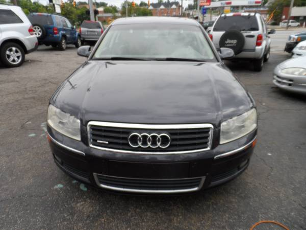 2004 Audi A8 L $1,200 Down pymt includes tax title temp tag