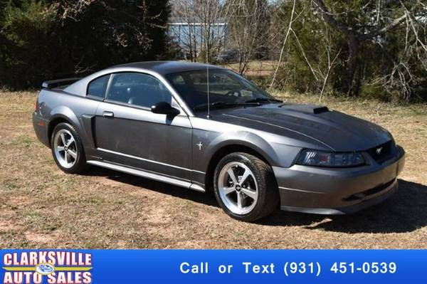 2003 Ford Mustang Mach 1 Premium 2dr Coupe Coupe Mustang Ford