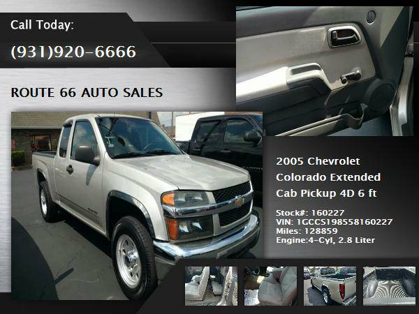 2005 Chevrolet Colorado Extended Cab Pickup Pickup 4D 6 ft