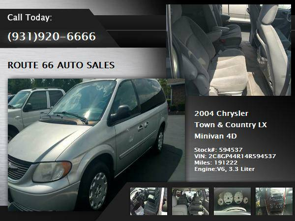 2004 Chrysler Town & Country Van LX Minivan 4D