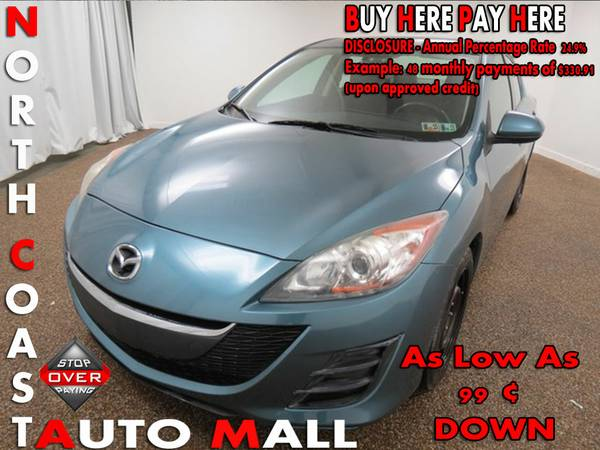 2010 Mazda Mazda3 i Sport -As Low As 99 ¢ DOWN