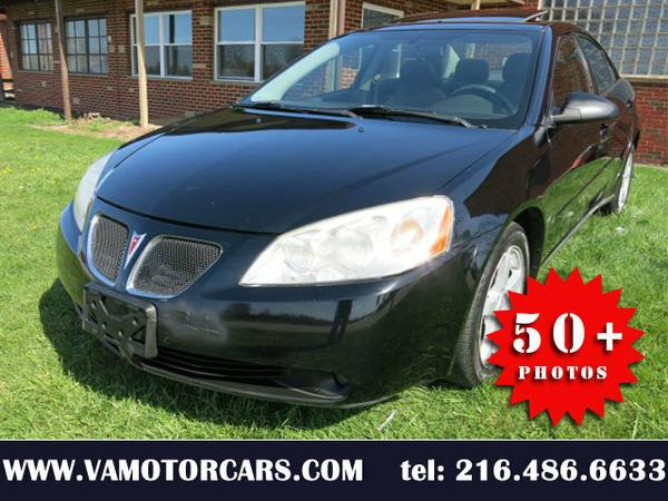 2007 07 PONTIAC G6 V6 SEDAN AUTO ALL POWER ALLOYS SUNROOF WARRANTY