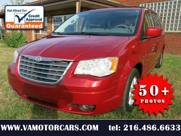 2008 08 CHRYSLER TOWN AND COUNTRY TOURING STOW-GO 100K ALLOYS WARRANTY