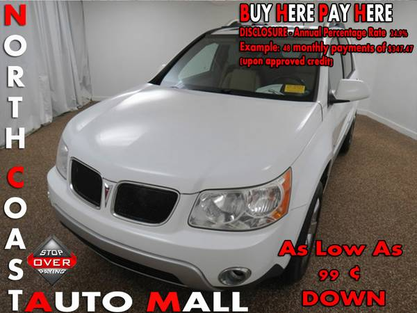 2007 Pontiac Torrent -As Low As 99 ¢ DOWN
