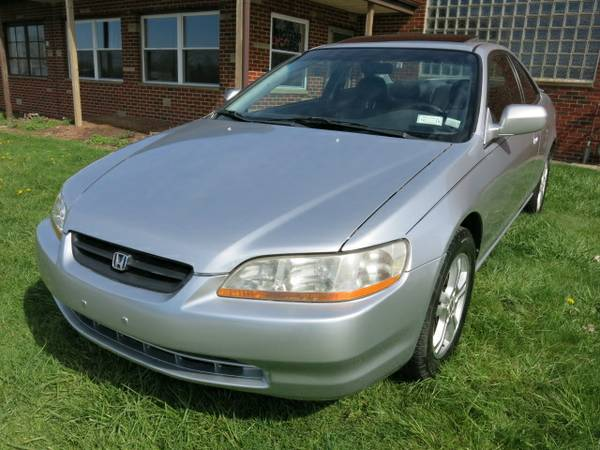 2000 00 HONDA ACCORD EX-L V6 COUPE AUTO 82K LEATHER ALLOYS SUNROOF WTY
