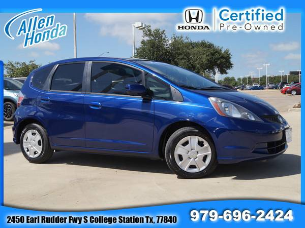 CERTIFIED! 2013 Honda Fit Added Warranty~Only 16 K Miles! Manual!