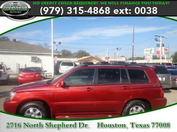 2002 *Toyota Highlander* Limited NO CREDIT CHECK REQUIRED!