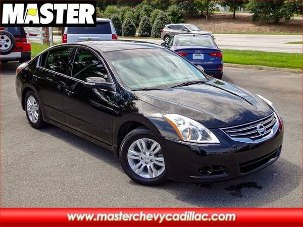 2012 *Nissan ALTIMA* 2.5 SL - (Super Black)