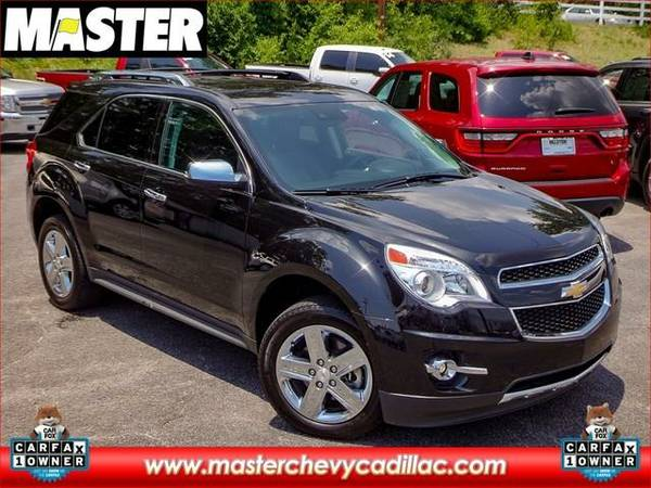 2014 *Chevrolet EQUINOX* LTZ - (BLACK)