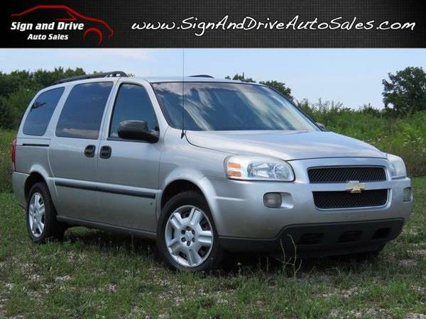 *** 2007 CHEVROLET UPLANDER *** SIGN AND DRIVE AUTO SALES