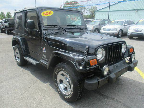 2003 *Jeep* *Wrangler* 2d Convertible X *$499 Down Drives Today!*