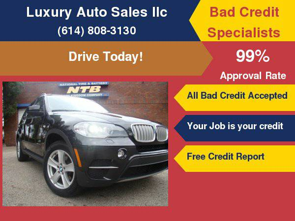 2011 BMW X5 35d Bad Credit OK!!!! Ask for our guarantee approval !!!