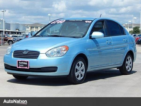 2008 Hyundai Accent GLS SKU:8U235722 Hyundai Accent GLS Sedan