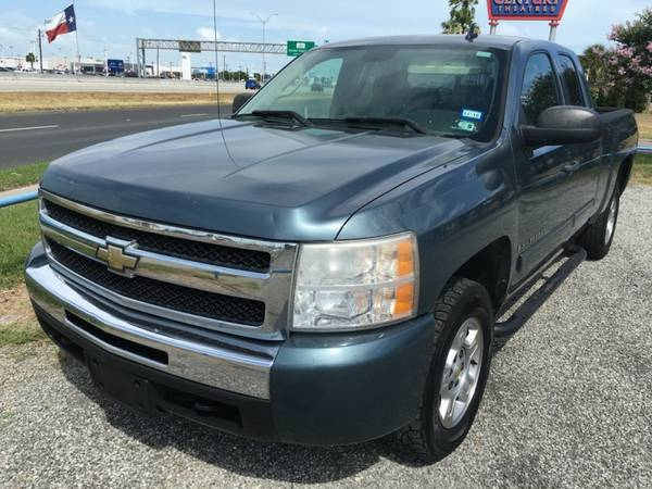 2009 CHEVY SILVERADO 1500 --- BLUE --- LOW DOWN PAYMENT!! ------------