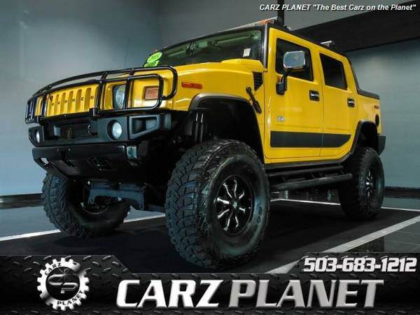 █ 2005 HUMMER H2 SUT LIFTED RARE hummer h2 sut LIFTED truck 4WD