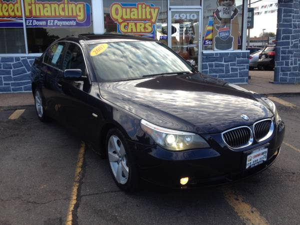 2007 BMW 530XI AWD 102K Mint Condition Clean Carfax Clean Title