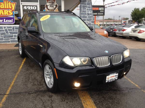 2008 BMW X3 3.0 SI AWD Leather Loaded Panoramic Sunroof