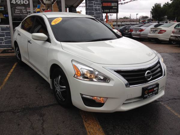 2015 Nissan Altima S 25K Excellent Condition Clean Carfax