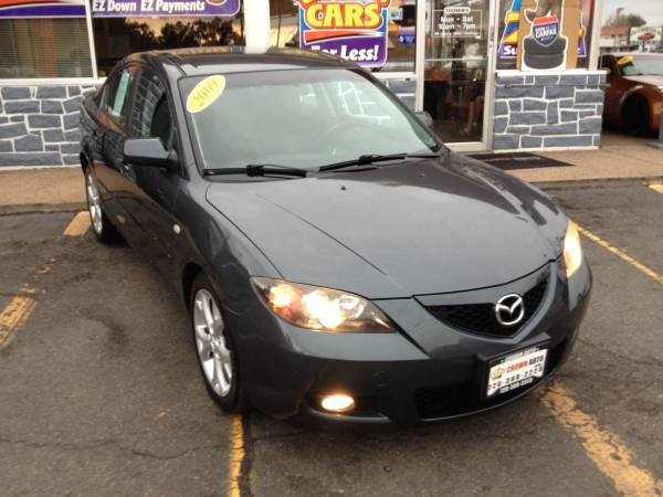 2009 MAZDA MAZDA3 4CYL Leather Heated Seats Excellent Condition