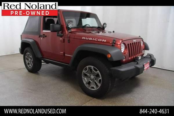 2014 Jeep Wrangler - Call