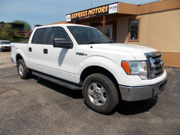 2010 *Ford* *F-150* *F 150* *F150* XLT SuperCrew 6.5-ft. Bed 4WD -...
