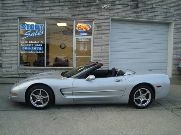 2000 Chevrolet Corvette Convertible ***LOADED-6SPEED-NEWER TIRES***