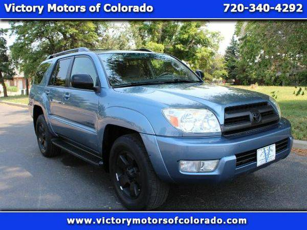 2005 *Toyota* *4Runner* SR5 4WD V6 - Over 450 Vehicles to Choose From!