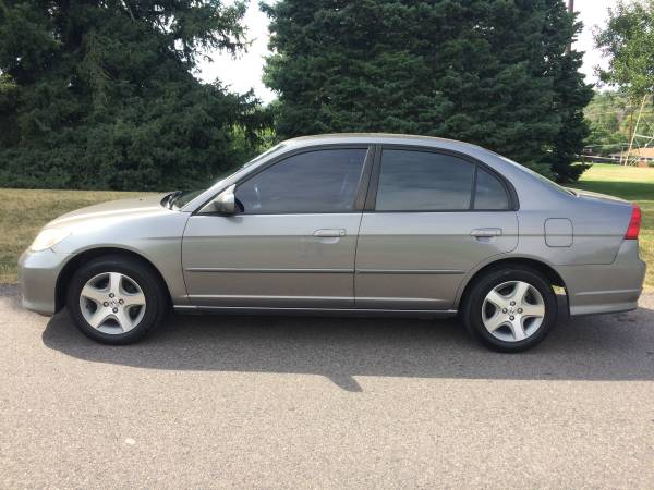 2004 HONDA CIVIC EX 4DR. Clean Carfax Auto Great Fuel mileage