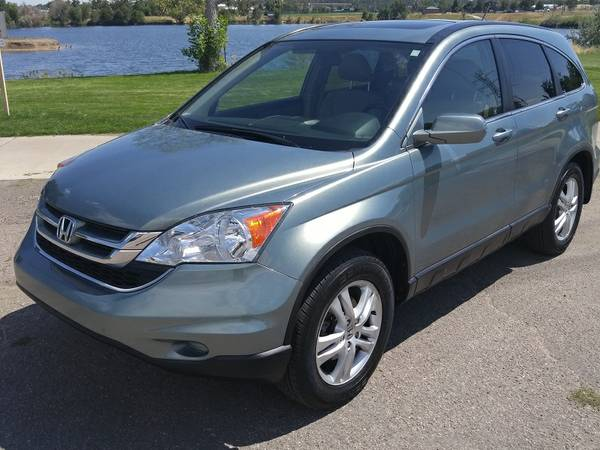 2011 Honda CR-V EX-L 4x4 Loaded CRV Only 45k Mi. $500 Down
