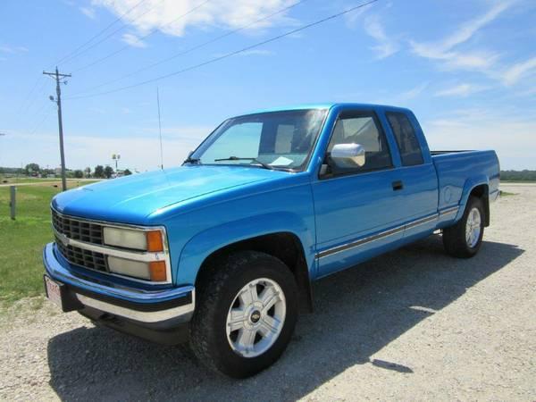 1991 Chevrolet Silverado 1500 Ext Cab 4x4 186,160 Miles - $7,950