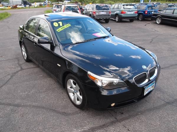 2007 BMW 525XI XDRIVE AWD LOW 118K! NAVIGATION! LOADED!
