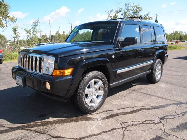 2008 JEEP COMMANDER LIMITED HEMI LOW 98K MILES! LOADED UP 7-PASSENGER!