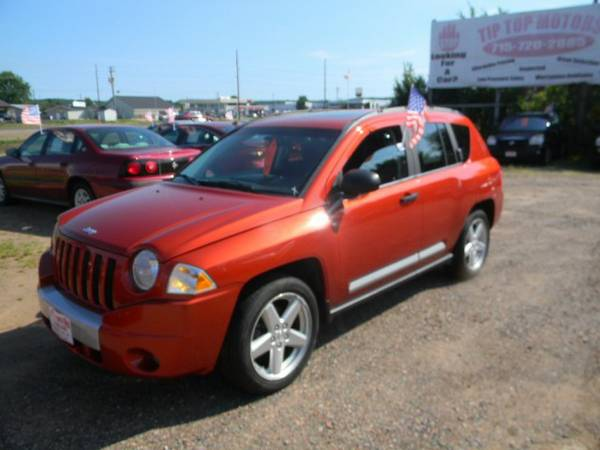 2008 Jeep Compass 4WD 4dr Limited with Illuminated entry