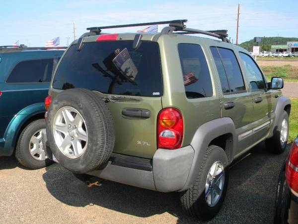 2003 Jeep Liberty 4dr Sport RWD 5 speed with 18.5 gallon fuel tank...