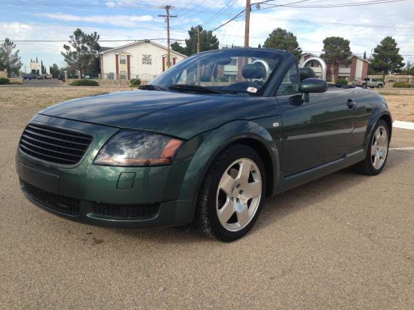 2001 Audi TT quattro 1.8 Turbo Convertible ((low-miles))((-0- DOWN ))