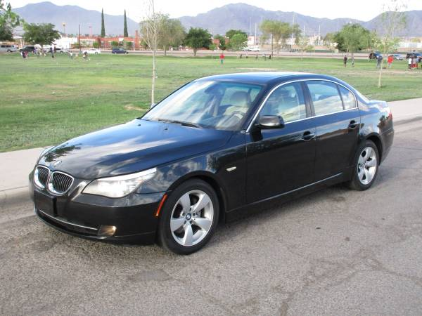 2008 BMW 528I! BACK TO SCHOOL SPECIAL! REDUCED FROM 11999 TO 9500