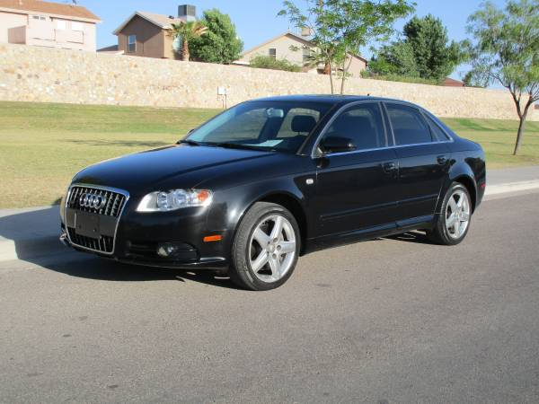 08 AUDI A4 QUATTRO 4X4! BACK TO SCHOOL! REDUCED FROM 8995 TO 7500