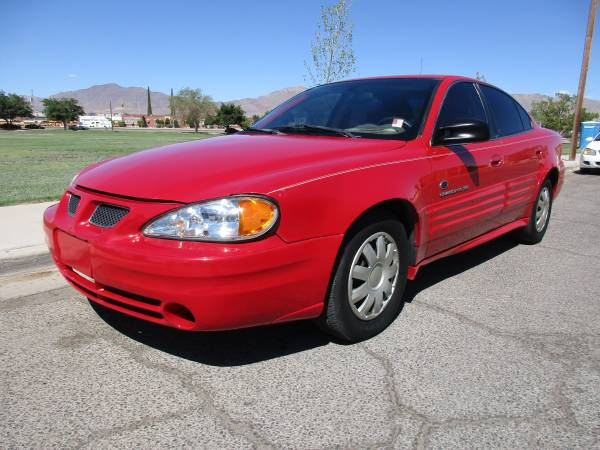 2000 PONTIAC GRAND AM 4 CYLINDER! BACK TO SCHOOL CASH SPECIAL!