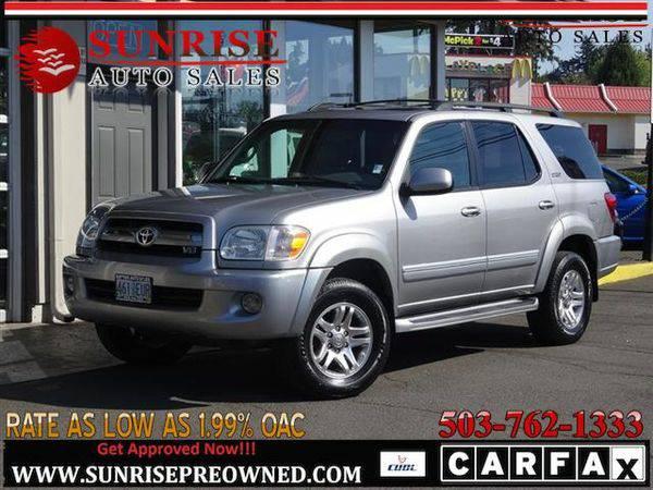 2006 *Toyota* *Sequoia* SR5 4dr SUV 4X4 LEATHER! NICE SUV!!
