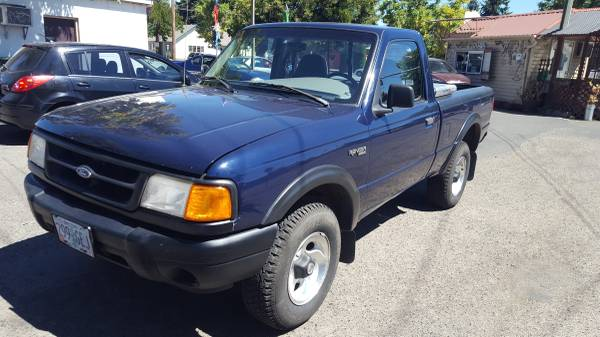 1997 Ford Ranger Truck, 169k miles, Price Reduction, tool box,