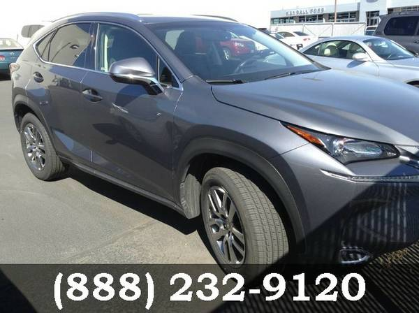 2016 Lexus NX 200t Nebula Gray Pearl Great Deal!