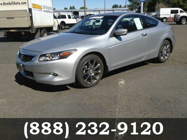 2008 Honda Accord Cpe Alabaster Silver Metallic SEE IT TODAY!