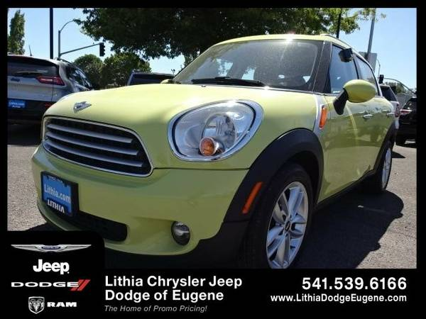 2011 Mini Countryman BASE (You Save $396 Below KBB Retail)