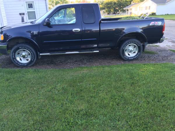 2001 f150 4x4 97,000 very low miles