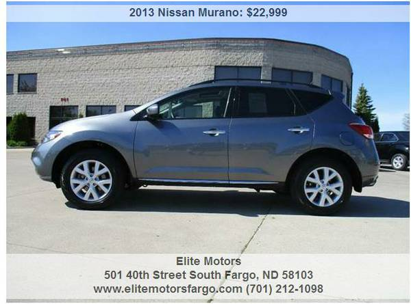 2013 Nissan Murano SL, AWD, Leather, Dual Roof, Sharp!