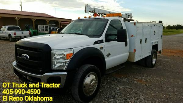 2011 Ford F-550 Maintainer Mechanics Service Utility Bed 6.7 Diesel
